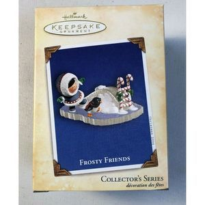 2004 Frosty Friends Collector's Ornament 25th